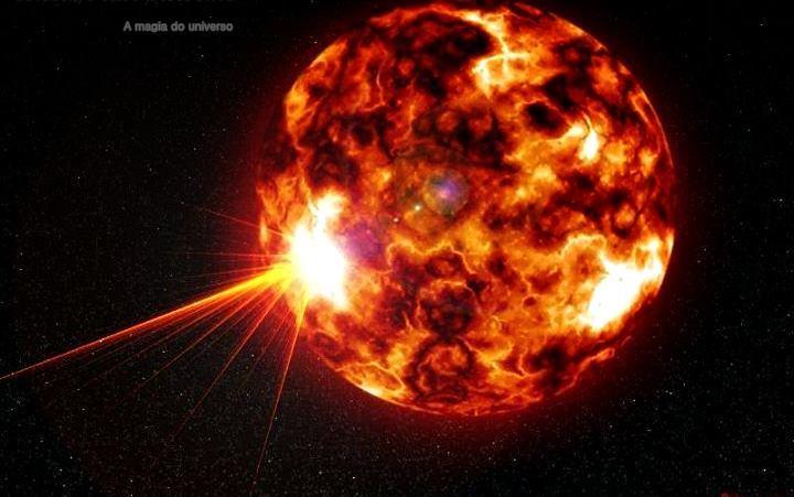 Resultado de imagen de Estrella de carbono (estrella gigante roja)